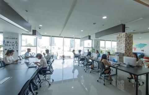 Văn phòng chia sẻ ( V.Startup Coworking)